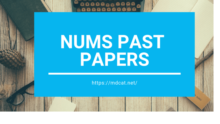 NUMS Past Papers [With 2020 Paper PDF]