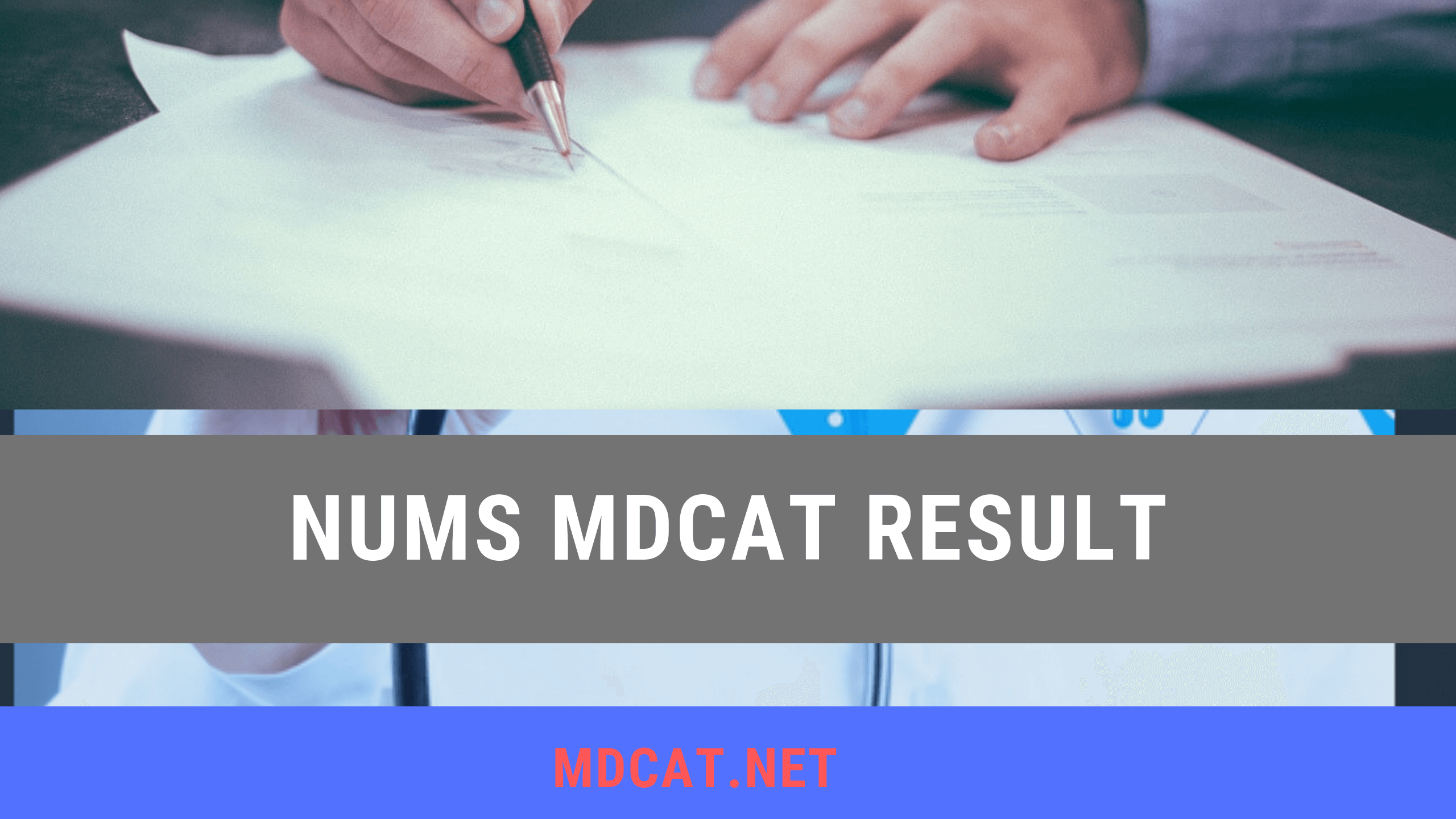nums mdcat result 2019