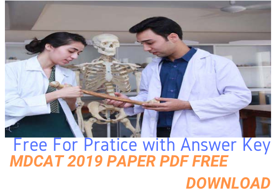 MDCAT 2019 Paper PDF Download