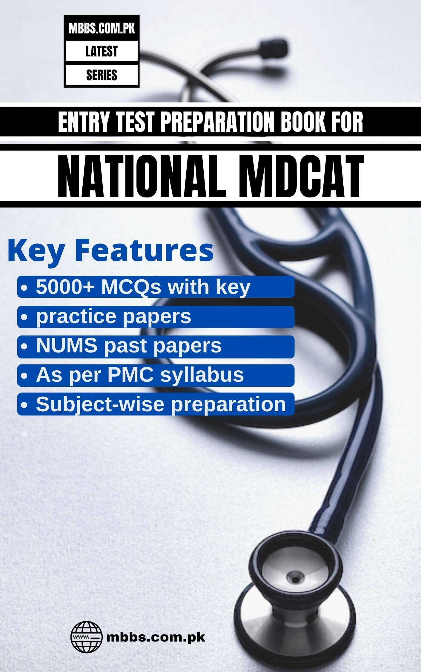NATIONAL MDCAT Book